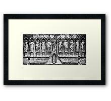 Holy Row in Salisbury Framed Print