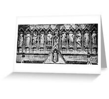 Holy Row in Salisbury Greeting Card
