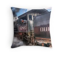 Durango & Silverton Narrow Gauge Railroad Throw Pillow
