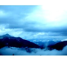 austrian mountains Photographic Print