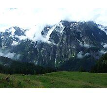 austrian mountains 7 Photographic Print