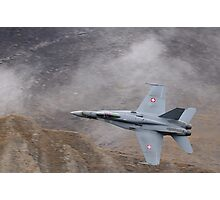 FA18 Hornet – Swiss Air Force Photographic Print