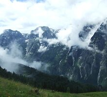 austrian mountains 8 by BeckieMaynard