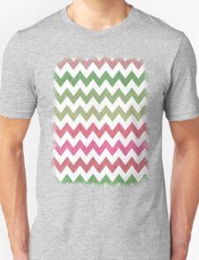Pink Roses in Anzures 2 Chevron 2T Unisex T-Shirt