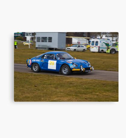 Alpine A110 Canvas Print