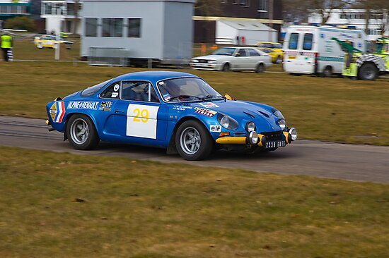 Alpine A110 by Willie Jackson