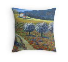 Tuscan View Throw Pillow