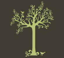 Tree and Birds by KimberlyMarie
