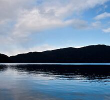 Lake Crescent , Washington State by Barb White