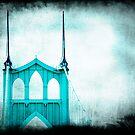 St. Johns Bridge by HouseofSixCats