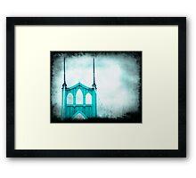 St. Johns Bridge Framed Print