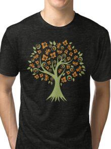 Butterfly Tree Tri-blend T-Shirt