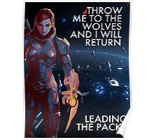 Fem Shepard Poster