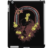 Skull With Kid Design T-Shirt iPad Case/Skin