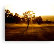 Middle of the Fairway Canvas Print