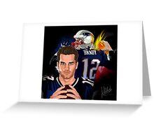 Tom Brady (The Legend) Greeting Card