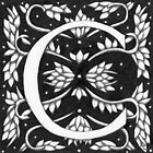 "Art Nouveau ""C"" (W Morris Inspired) (Ebay Listed) by Donna Huntriss"
