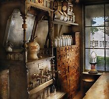 Americana - Turn of the century soda fountain by Mike  Savad