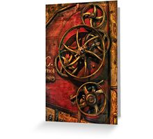 Steampunk - Clockwork Greeting Card