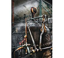 Steampunk - The Steam Engine Photographic Print