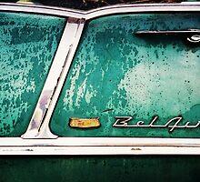 55 or 56 Chevy BelAir...1 greeting card sold by trueblvr