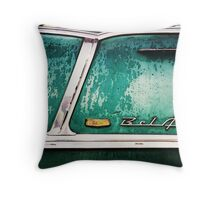 55 or 56 Chevy BelAir...1 greeting card sold Throw Pillow