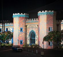 Macquarie Street Night Lights Sydney  by Norman Herfurth