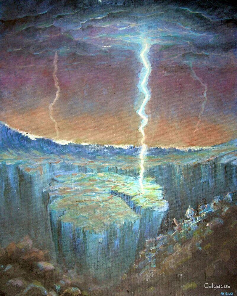 electric earthquakes by Calgacus