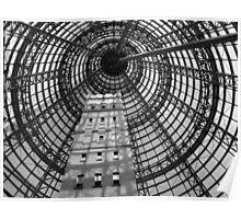 Coops Shot Tower, Melbourne CBD, Australia. Poster