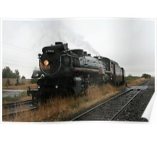 Canadian Pacific 2816 Empress Steam Engine Poster