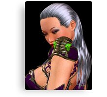 IVY from Soul Calibur Canvas Print
