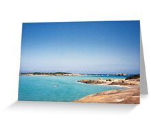 Mad Fish  - Mad Fish Bay  south west coast. W.A Greeting Card