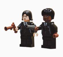 Lego Pulp fiction by Kevin  Poulton - aka 'Sad Old Biker'