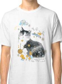 cat design t-shirt Classic T-Shirt