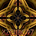 Xzendor7 Compositing Round Triangles Gold Hue by xzendor7