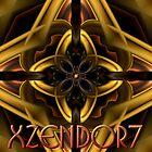 Xzendor7 Compositing Round Triangles Gold Hue by xzendor7