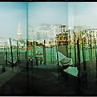 Gondolas and the Grand Canal by Kylewis