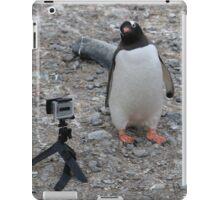 Gentoo Penguin in Antarctica & Go Pro - 4  iPad Case/Skin