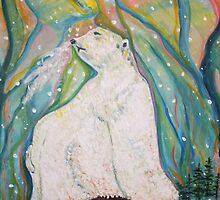 Polar King in Aurora Light by eoconnor