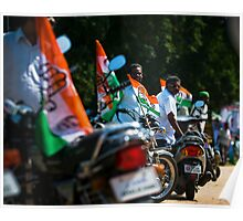 The lineup for the rally, Arul Puram, India Poster