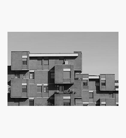 geometric architecture with blocks  Photographic Print
