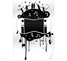 Fun with Music Design T-shirt Poster