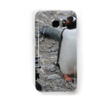 Gentoo Penguin in Antarctica & Go Pro - 5 Samsung Galaxy Case/Skin