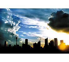 Converging Fronts Over Sydney Photographic Print