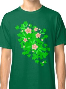 Cherry Blossom - Forest Green Classic T-Shirt