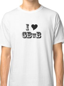 GBwB 'Love' Logo Classic T-Shirt
