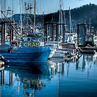 West Coast Crab Boat by Rick Ruppenthal