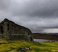 Centre of the Dark Broch by Claire Walsh