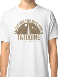 Moisture Farmer Union (brown) Classic T-Shirt