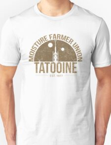 Moisture Farmer Union (brown) Unisex T-Shirt